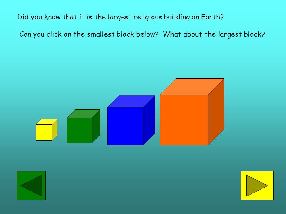 Did you know that it is the largest religious building on Earth