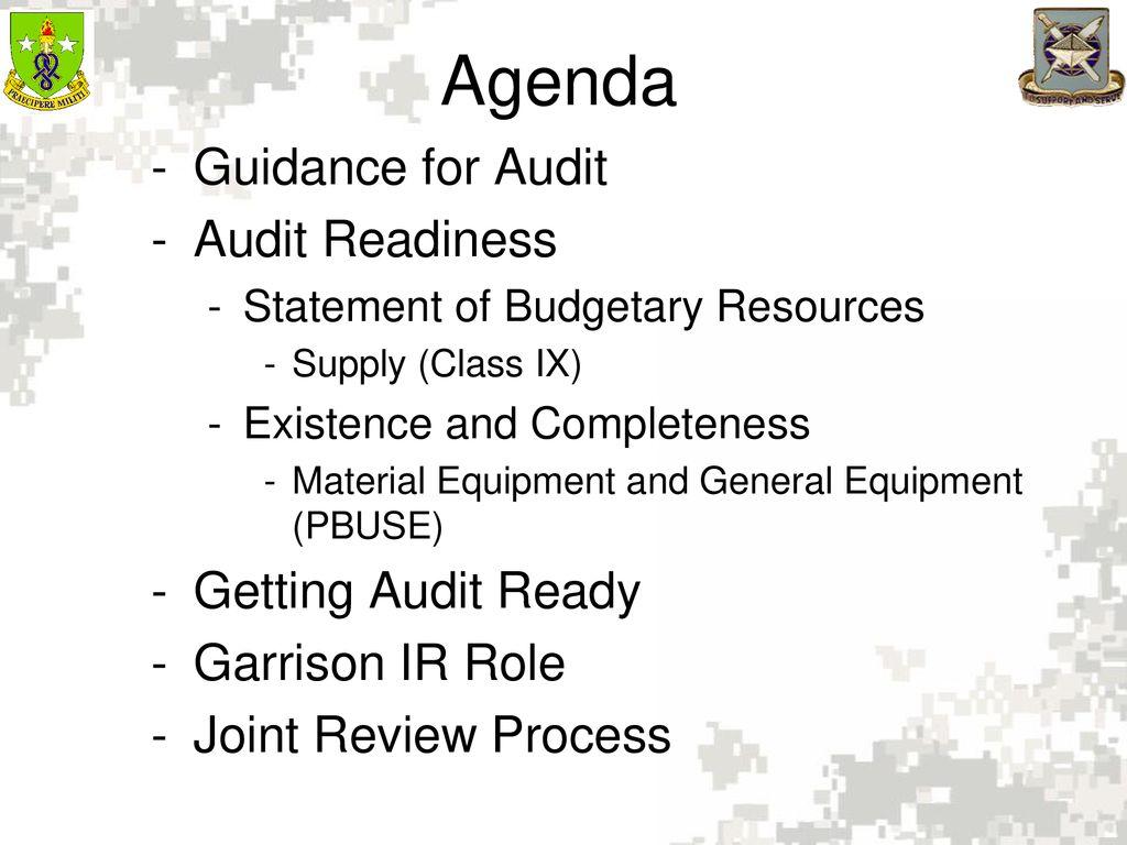 Define Audit Readiness - ppt download