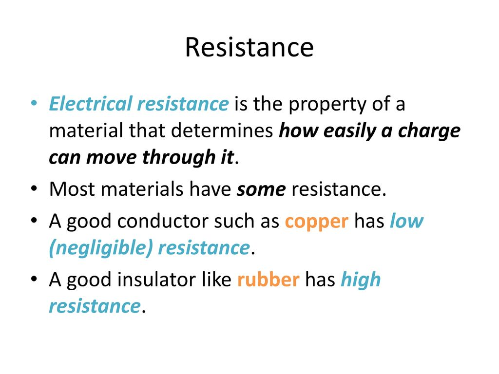 Resistors Ppt Download Electrical Resistance And 4