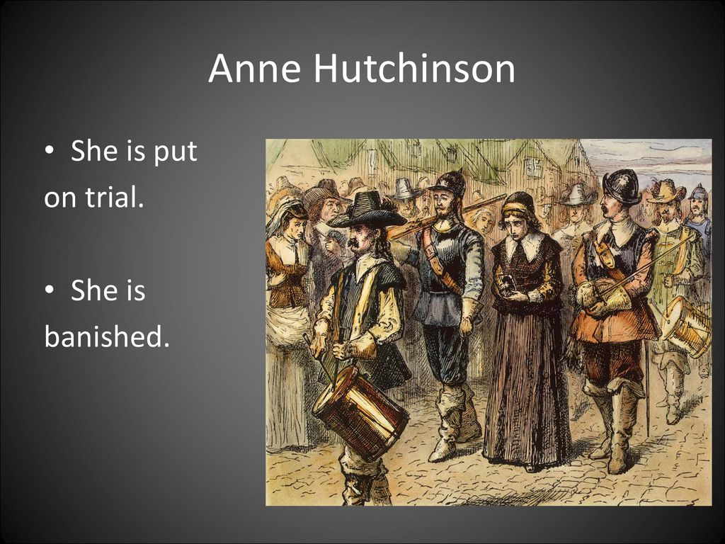 anne hutchinson banished