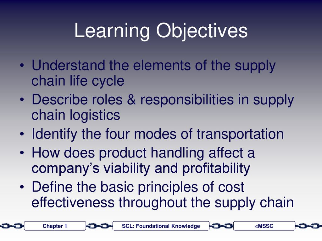 Global Supply Chain Logistics - ppt download