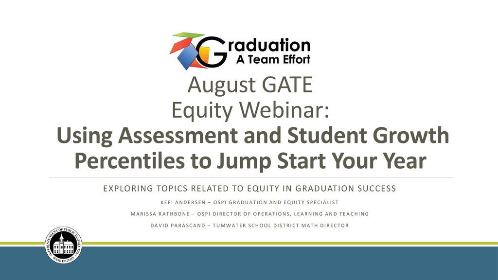 Exploring topics related to equity in graduation success