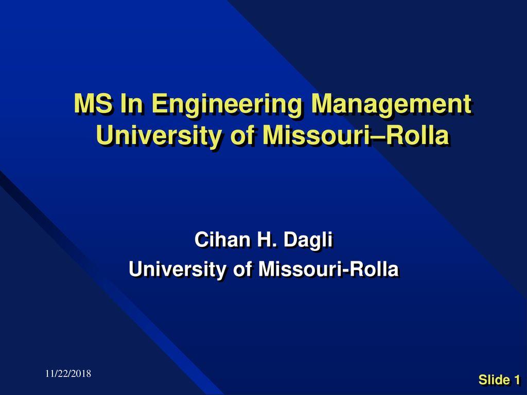 rolla university missouri engineering