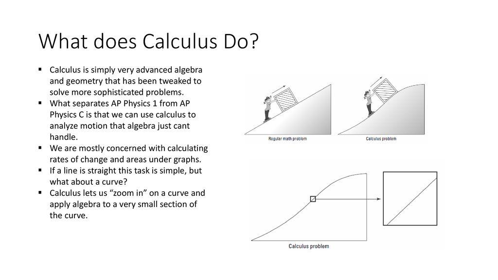 Calculus AP Physics C  - ppt download