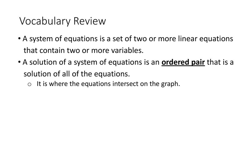further Linear Slopes Math Graph Linear Equations Worksheet Activities For additionally Warrayat Instructional Unit likewise Pre Alge Worksheets   Linear Functions Worksheets furthermore  together with Systems of Linear Equations further  in addition Solved  Ooooo T Mobile 19  1 04 AM Precalculus Ahs ausd ne additionally solving for variables worksheet math – findeth club besides Systems Of Equations In Three Variables Worksheet Math How To Solve further  together with 3 1   3 3 Review Worksheet also Alge Worksheets   Pre Alge  Alge 1  and Alge 2 Worksheets further Solving Systems of Equations METHOD  PARISON  Flowchart  Graphic as well System Of Equations Worksheet   Winonarasheed moreover Tuesday Homework  5 3 Day 1 Worksheet   ppt download. on systems of equations review worksheet