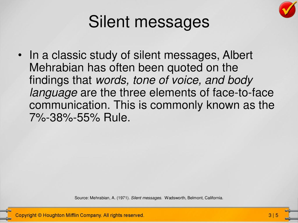 Silent Messages Albert Mehrabian Download