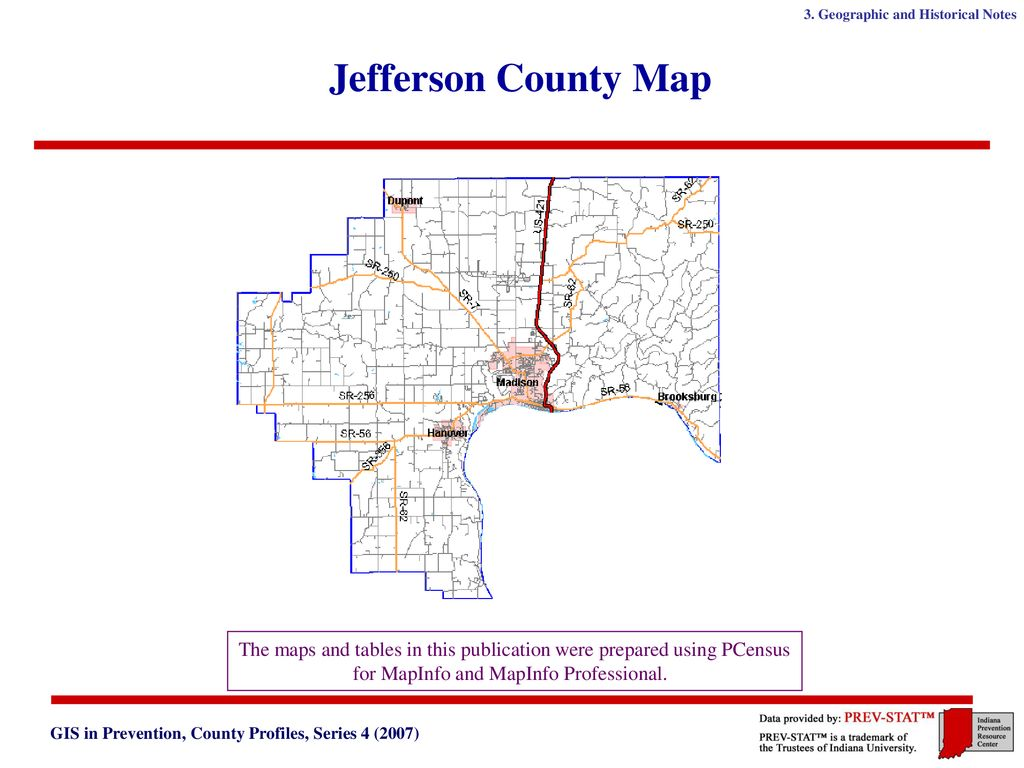 Jefferson County Indiana Map.Jefferson County Indiana Ppt Download