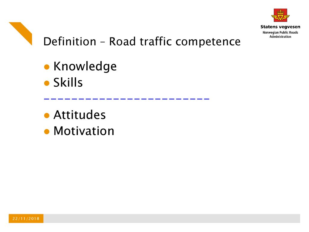Norwegian Driver Training Evaluation And Follow Up Results Ppt