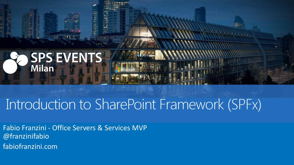 Introduction to SharePoint Framework (SPFx) - ppt download