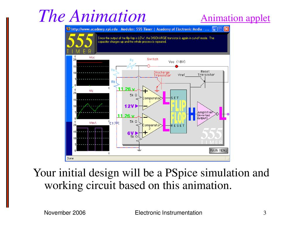 Project 3 Build An Astable Multivibrator Ppt Download Experiment 15 The With 555 Electronic Instrumentation