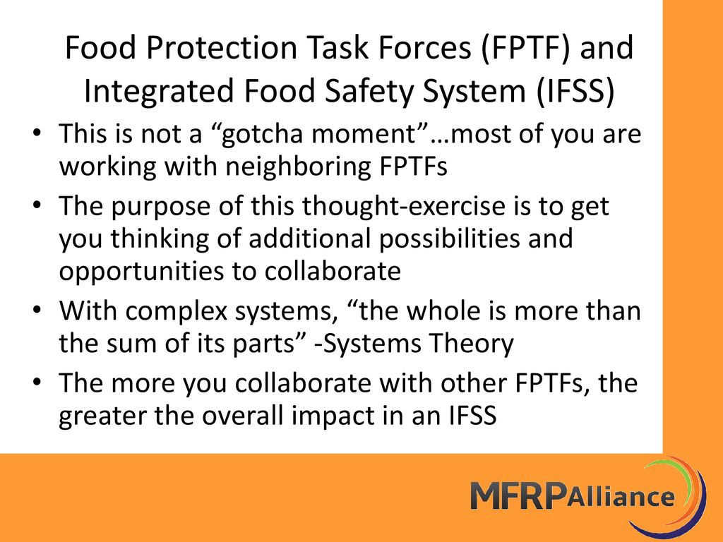 Food Protection Task Force Grant Program Update - ppt download