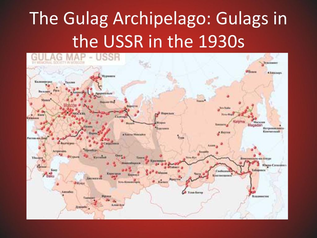 Picture of: Stalin S Gulag Archipelago Ppt Download
