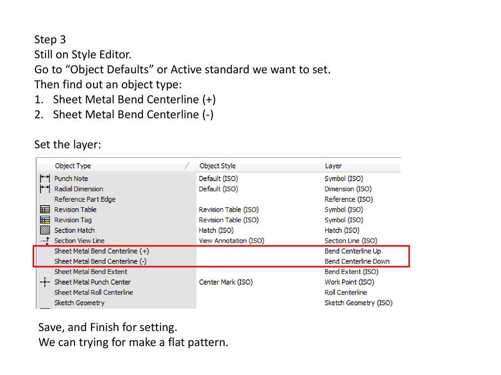 Autodesk Inventor Bend Line Change  - ppt download