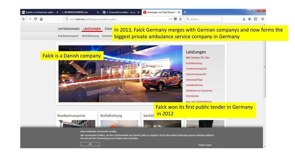 Opportunities for Czech companies in German public