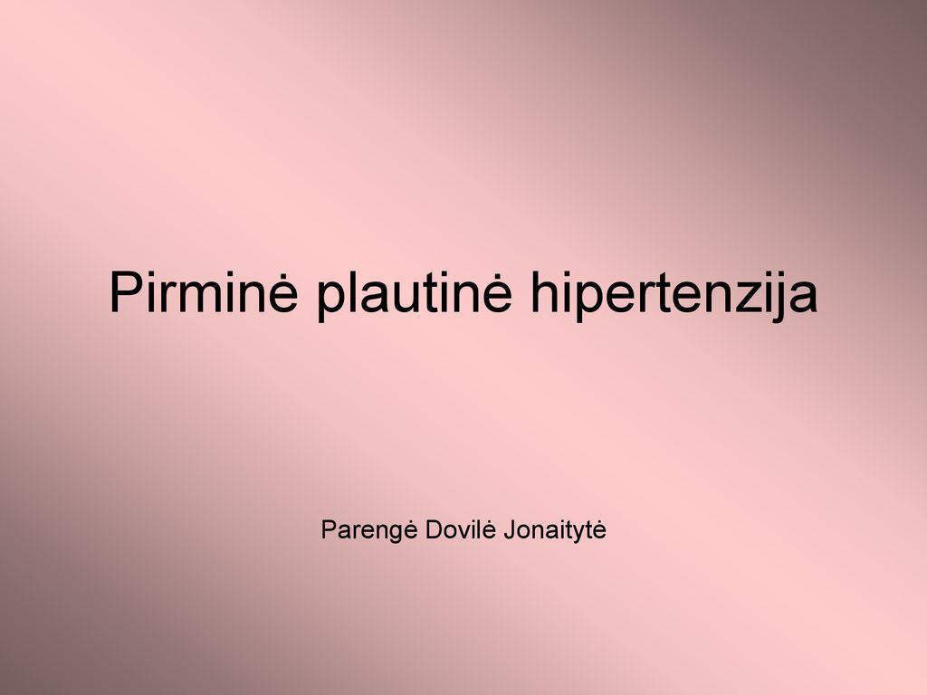 galvos svaigimas su hipertenzija sukelia)