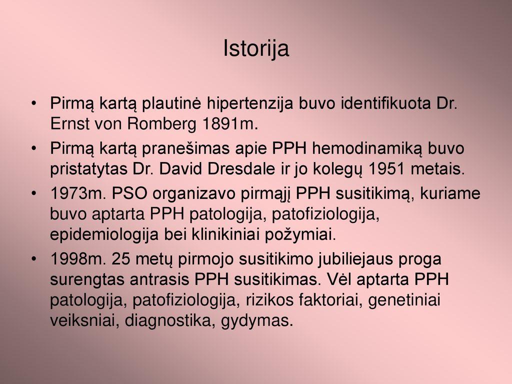 hipertenzijos pasekmės 3 laipsniai ligos istorija su lėtine hipertenzija