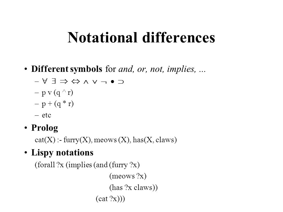 Propositional And First Order Logic Ppt Download