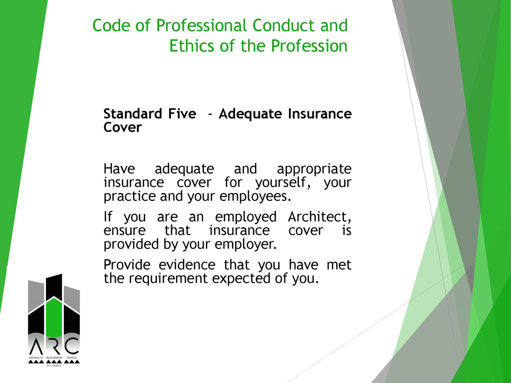 Code of Professional Conduct and Ethics of the Profession - ppt download