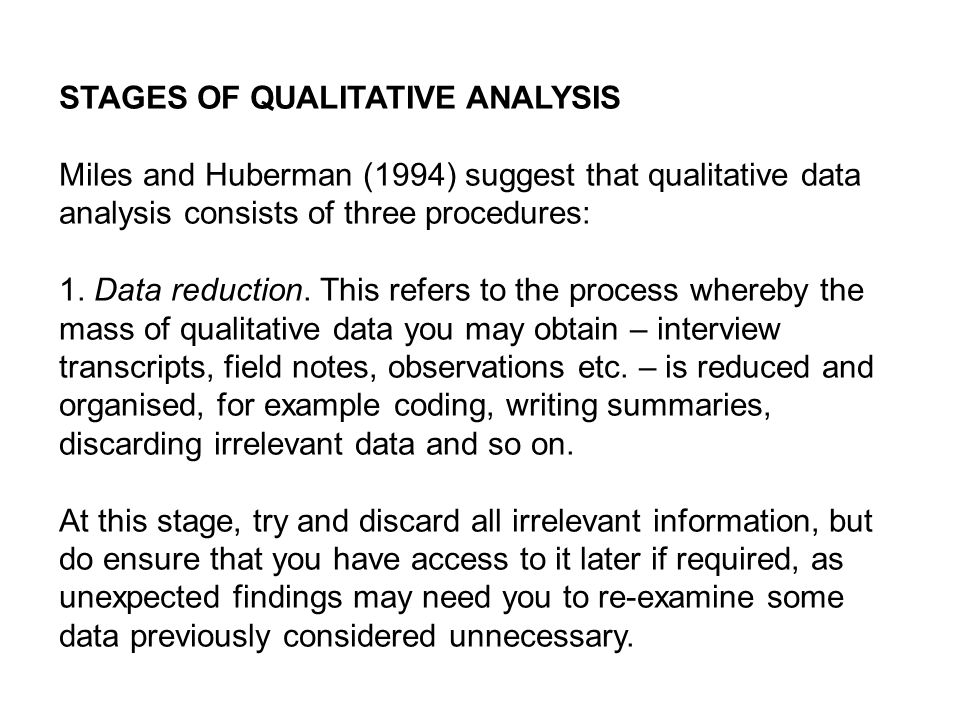 Analysing Data Ii Qualitative Data Ppt Video Online Download