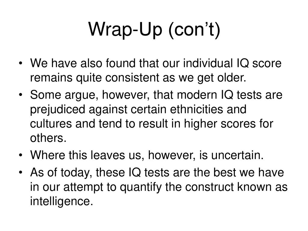 Intelligence and Intelligence Testing - ppt download