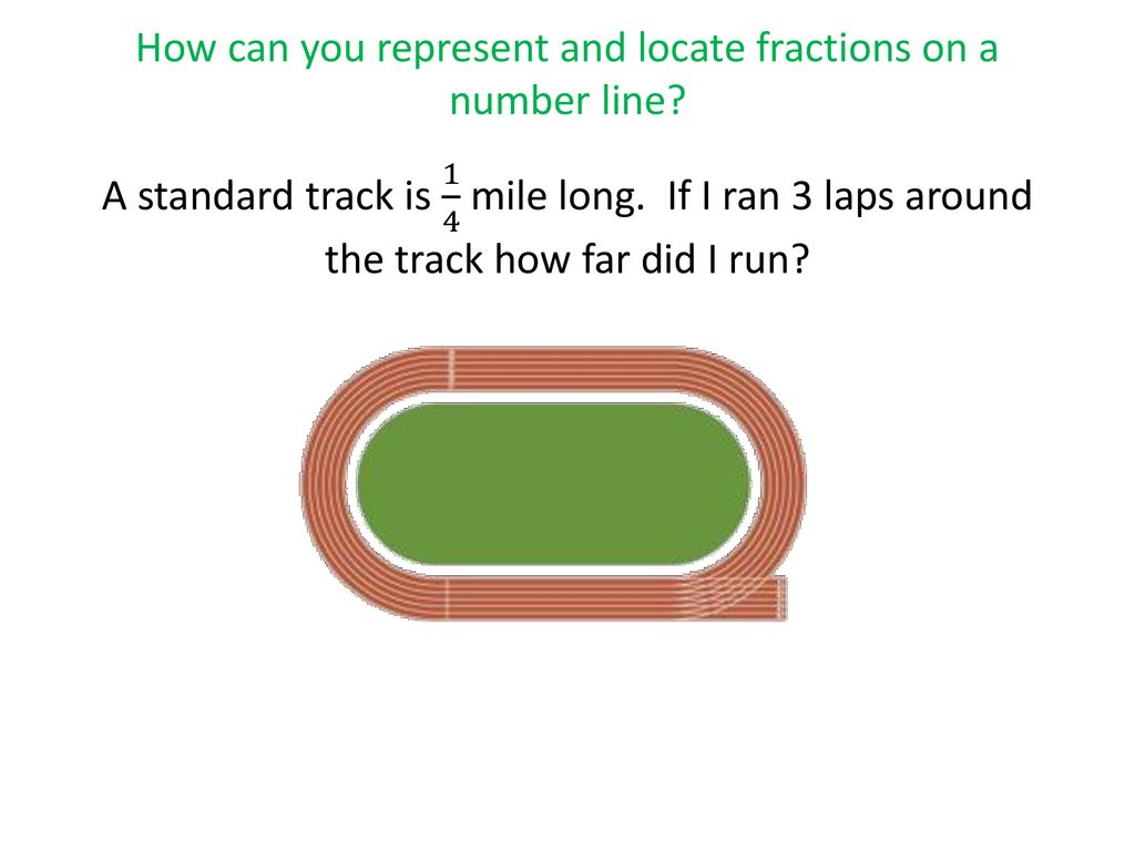 how can you represent and locate fractions on a number line? - ppt
