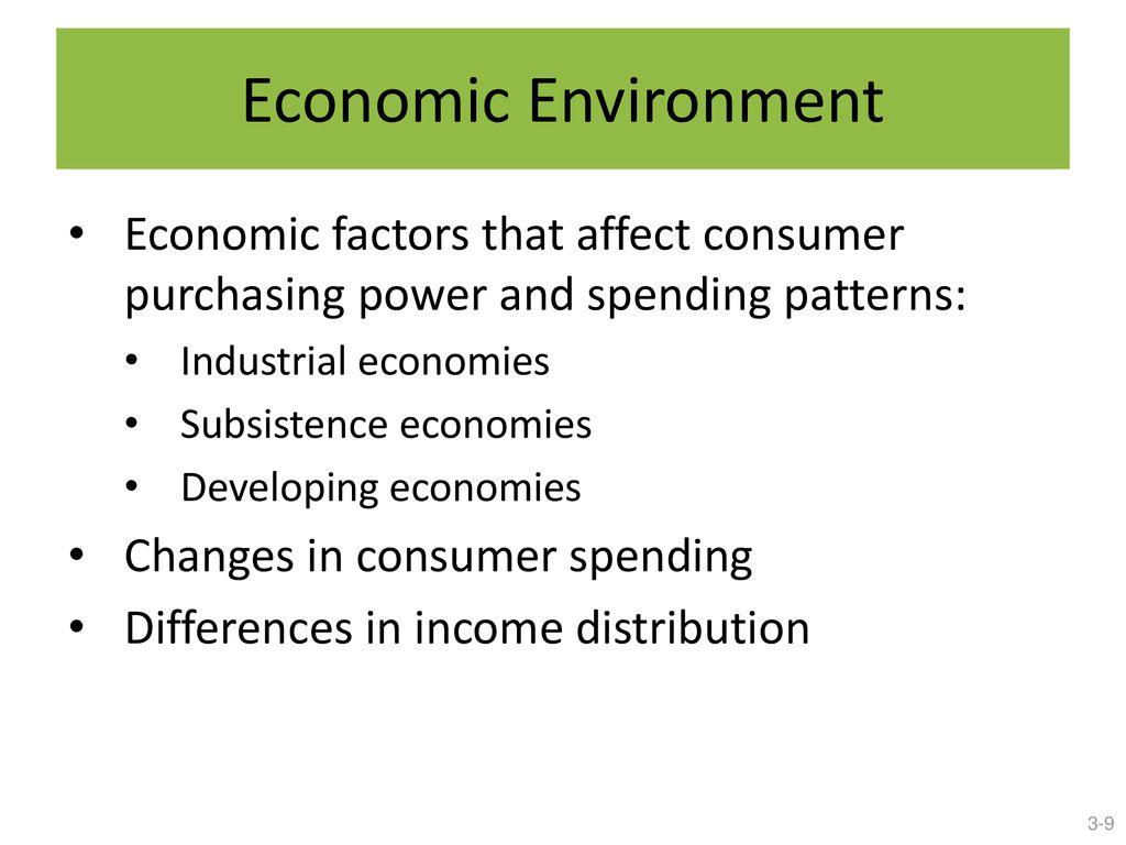 factors that affect consumer spending