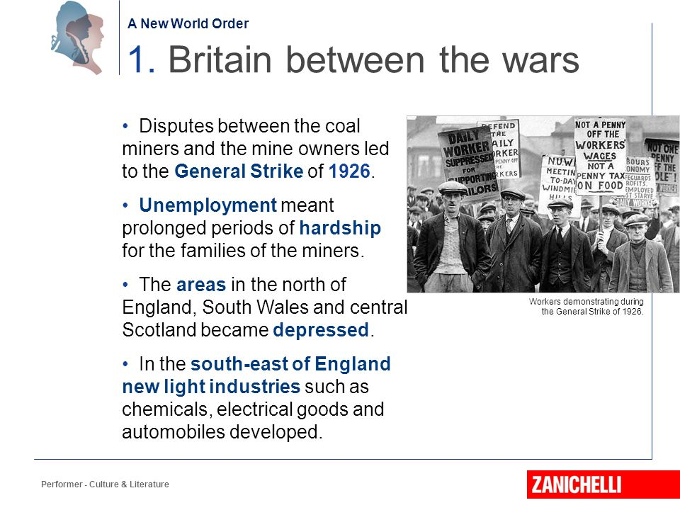 1. Britain between the wars