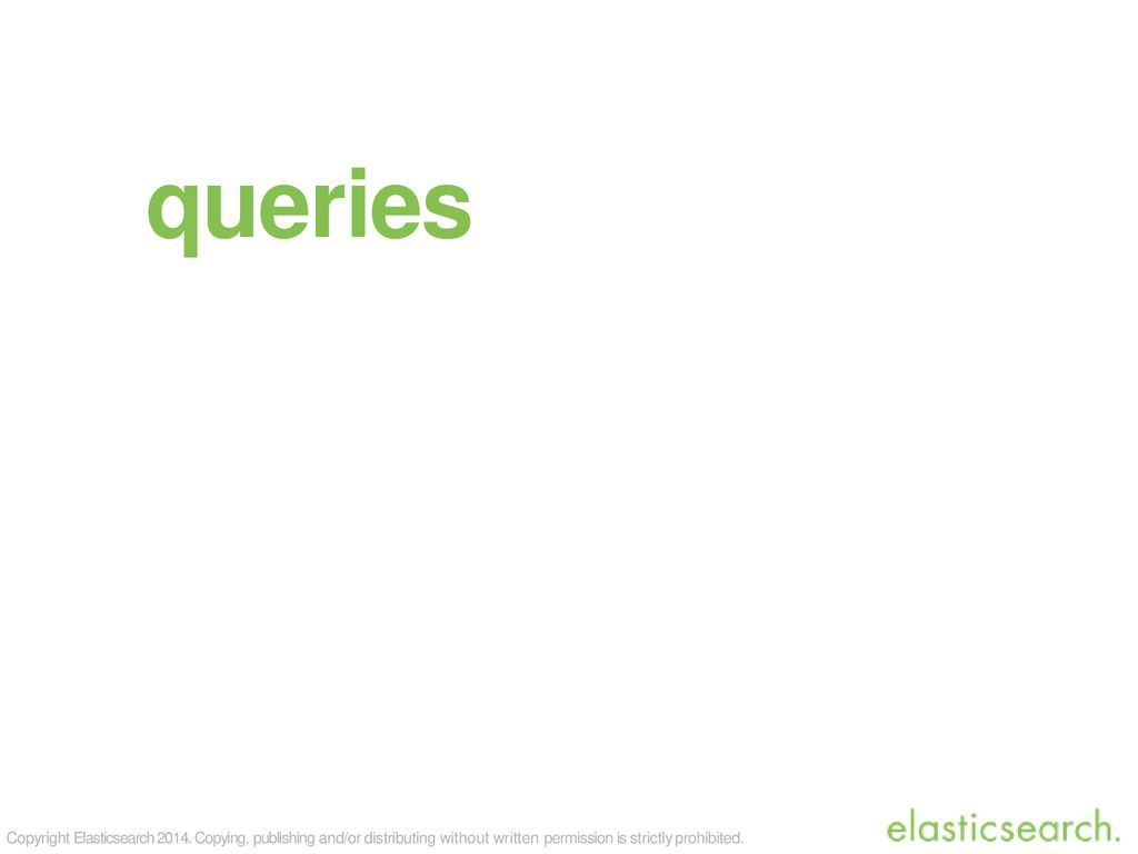 Elasticsearch Query DSL - ppt download