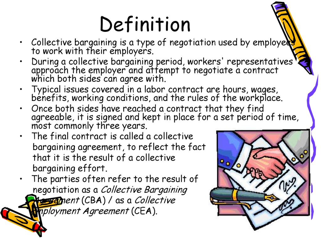 what is collective bargaining? - ppt download