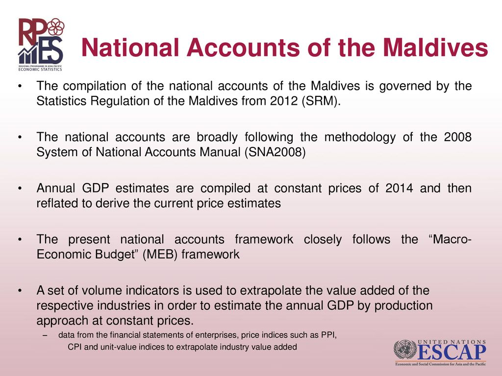 Maldives key learnings and experiences from the nss review and.