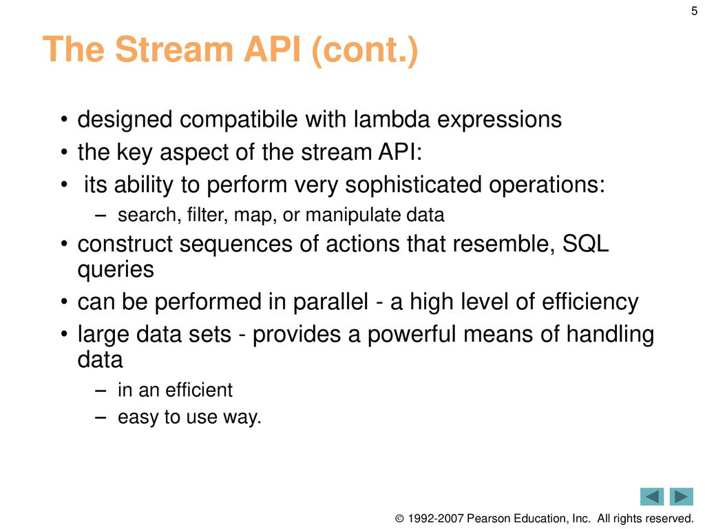14 The Stream API  - ppt download