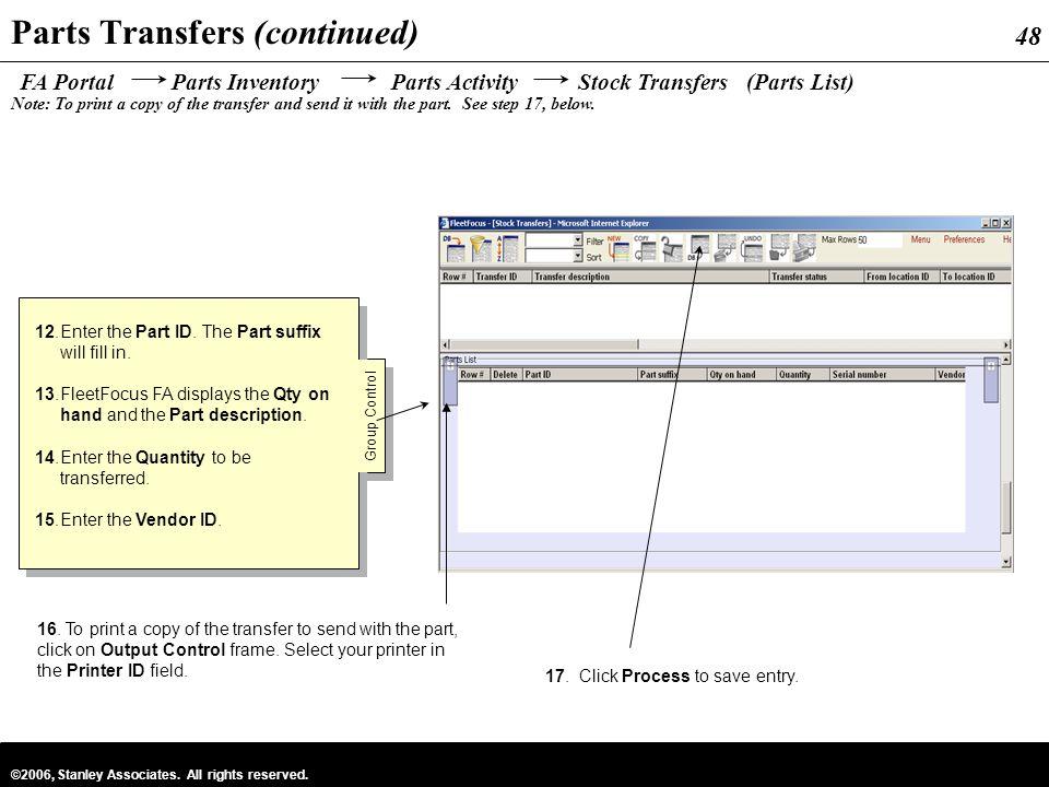 Parts Inventory Management - ppt download