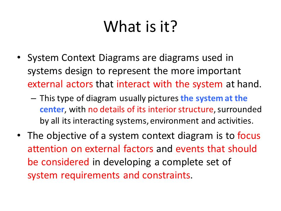 Context Diagram Yong Choi Bpa Csub Ppt Download