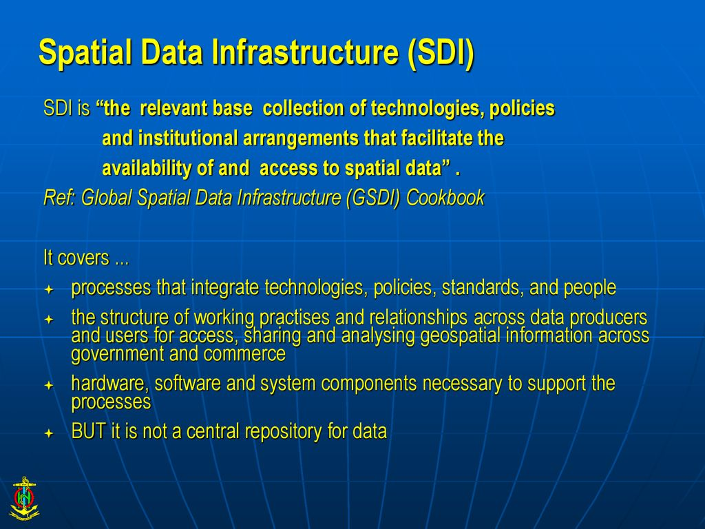Data Management and MSDI – Successes and Challenges - ppt