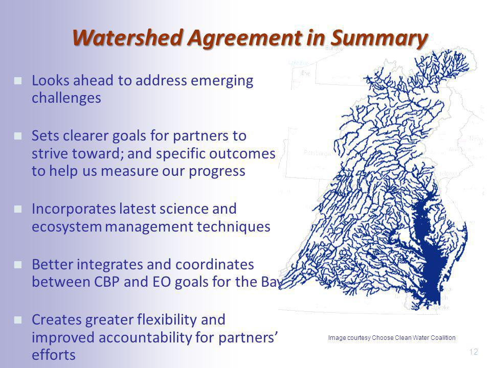 Watershed Agreement in Summary