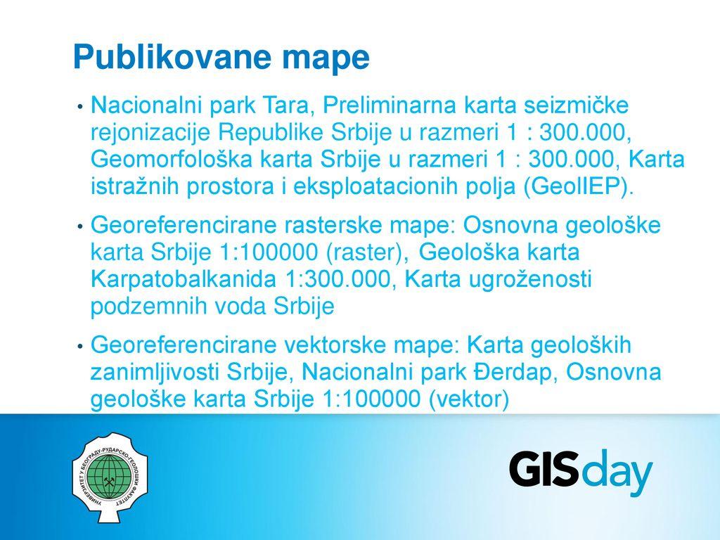 Promociju Gis Dana U Srbiji Ppt Download