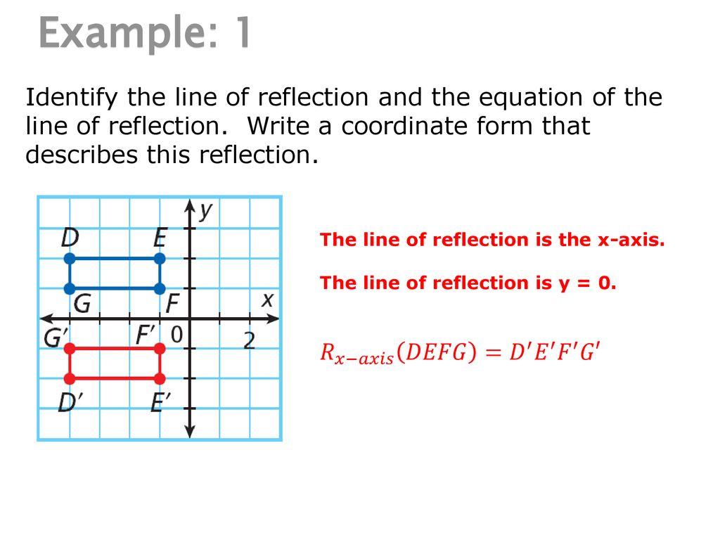 Pearson Unit 2 Topic 8: Transformational Geometry 8-2