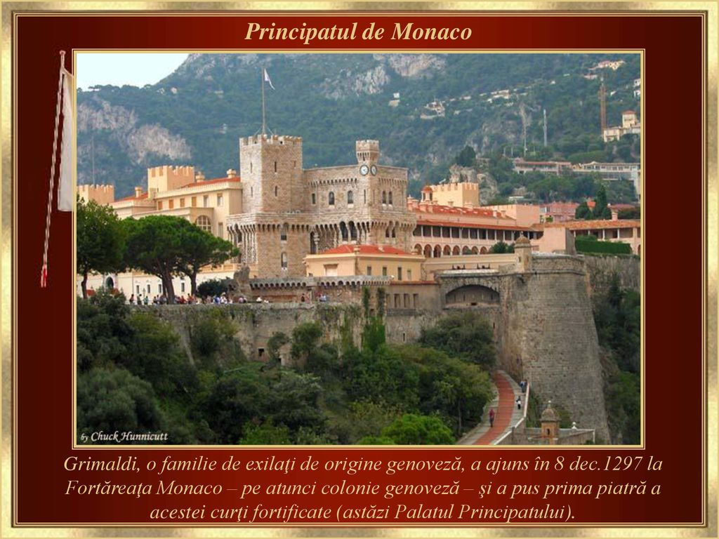 Intalnire a siturilor istorice Grimaldi din Monaco