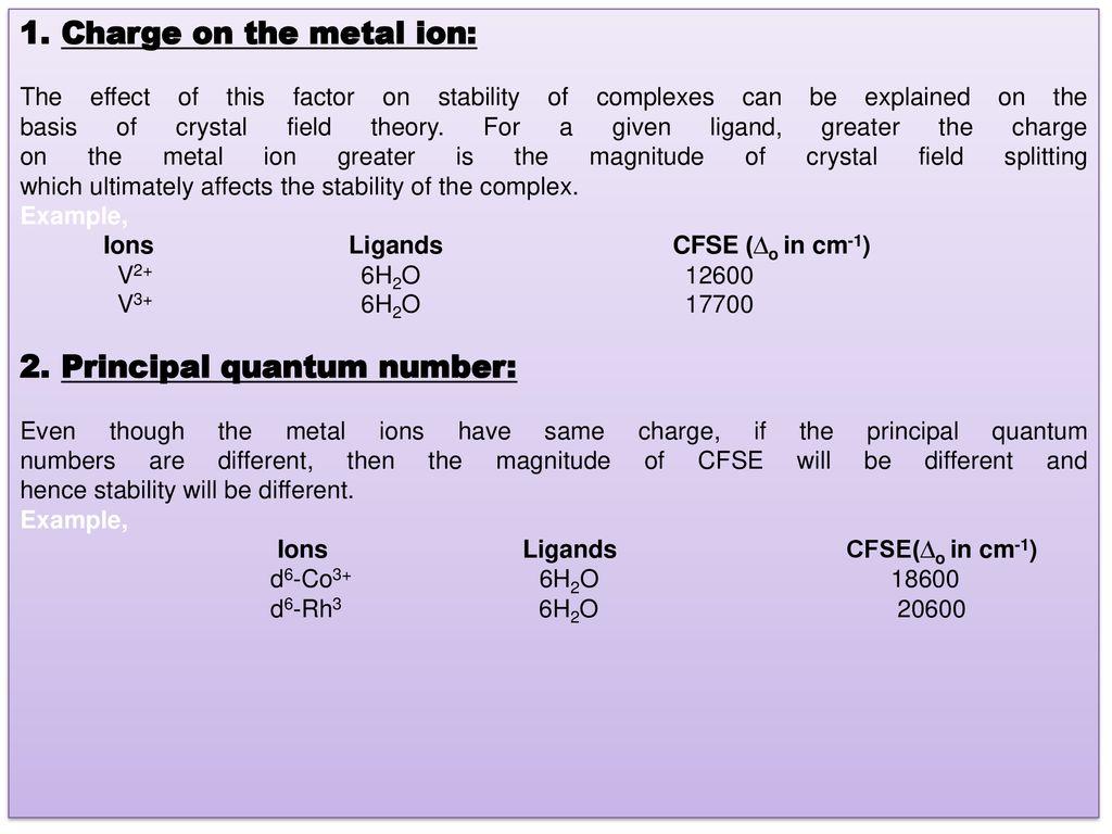 Title: Coordination Chemistry Dr - ppt download