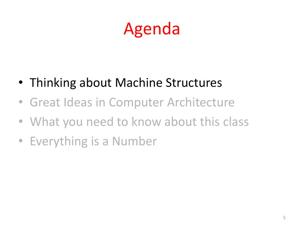 CS 61C Great Ideas in Computer Architecture (a  k  a - ppt