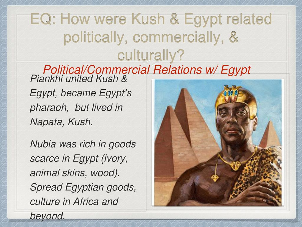 Chapter 6 Kush And Other African Kingdoms Ppt Download