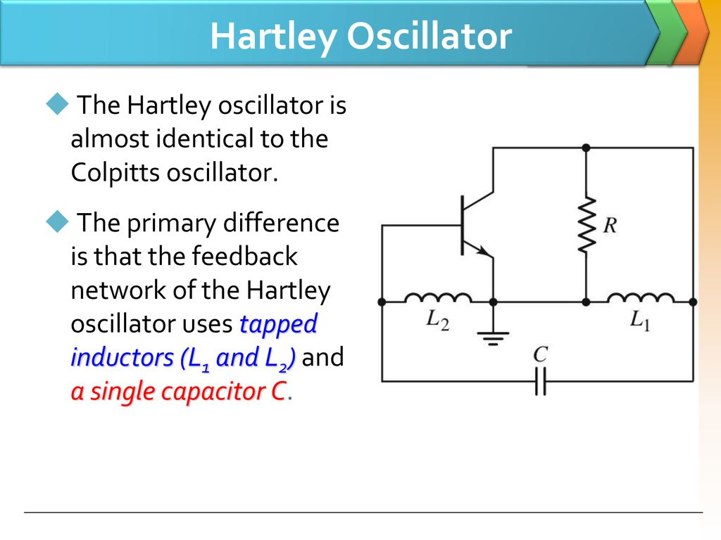 Lc Oscillators Use Transistors And Tuned Circuits Or Crystals In Hartley Oscillator 6