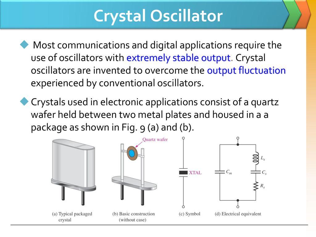 Lc Oscillators Use Transistors And Tuned Circuits Or Crystals In Crystal Oscillator Circuit