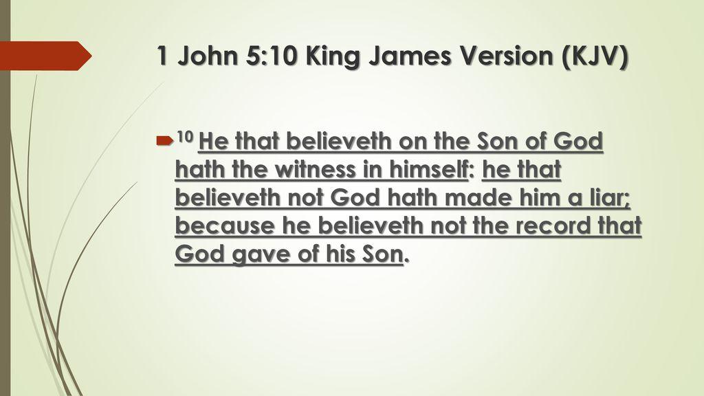 The Danger of Unbelief… - ppt download