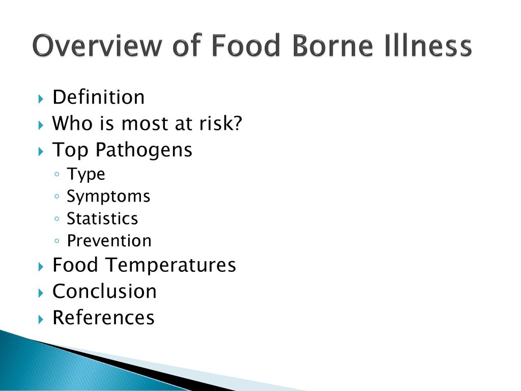 food safety and food borne illnesses - ppt download