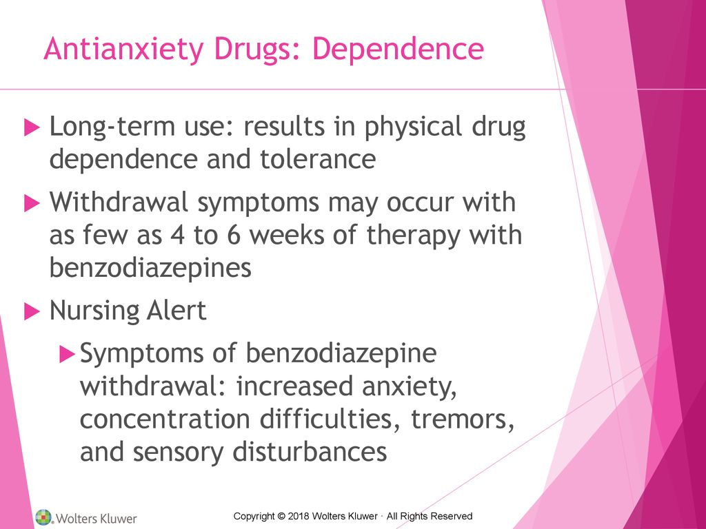 Introduction to Clinical Pharmacology Chapter 20 Antianxiety