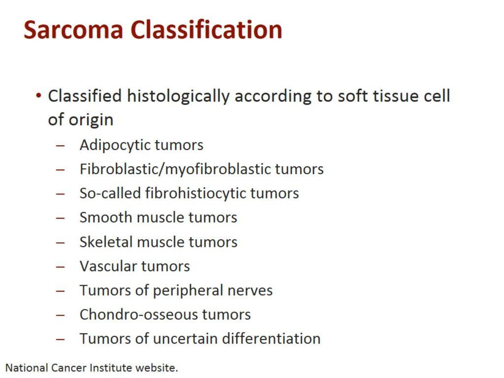 sarcoma cancer ppt