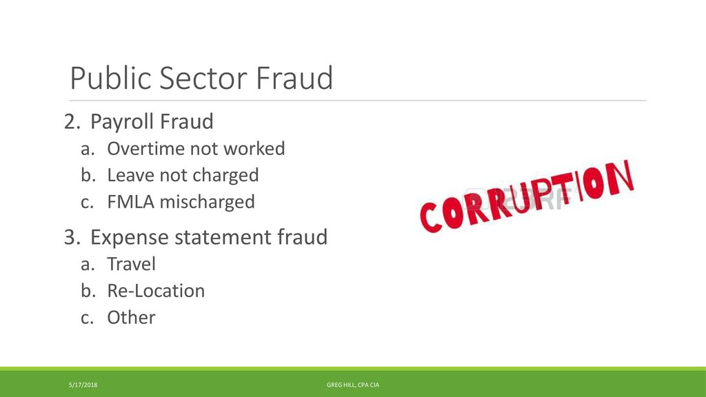 Strategies for preventing and detecting fraud - ppt download