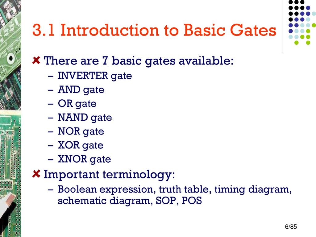 Basic Combinational Logic Circuit Ppt Download Nor Gate Diagram 31 Introduction To Gates