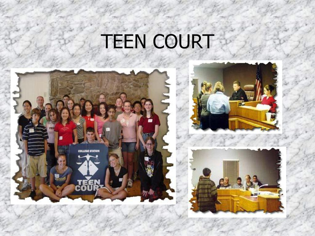 Think, college station teen court